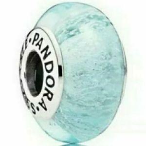Pandora Disney Elsa's murano glass bead.